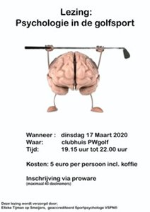 Lezing: Psychologie in de golfsport
